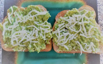 Mashed Avocado On Toast