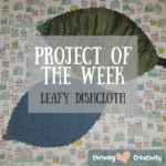Project of the Week: Leafy Washcloth